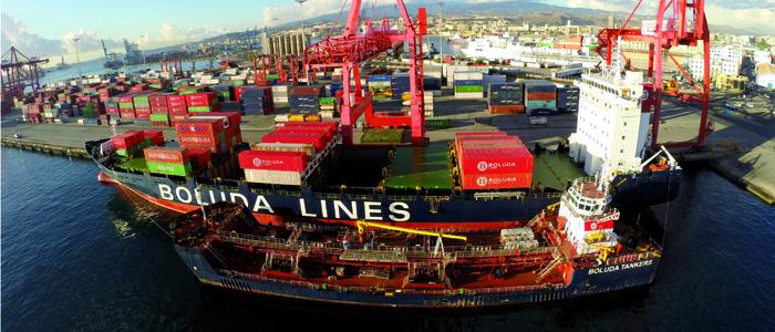 En 2017, los puertos españoles movieron 532,2 millones de toneladas de mercancías